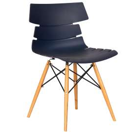 Lote 4 sillas de diseño Estambul Azul